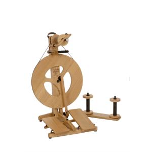 Louet Victoria Spinning Wheel in Oak