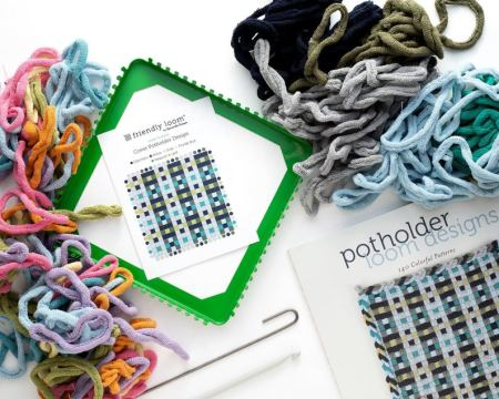 Harrisville Potholder Designs Kit