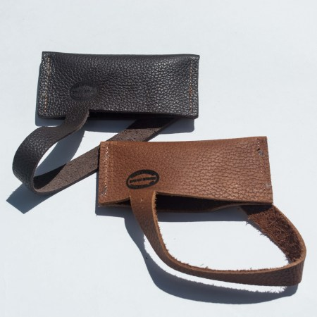 Comb Covers in Light or Dark leather