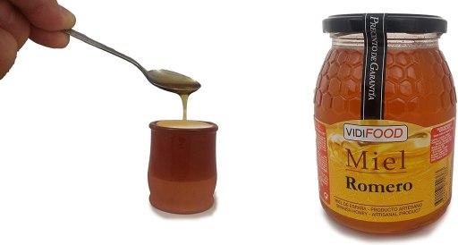 Miel de romero de alta calidad 100% pura con cuajada