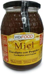 Bote de miel de Eucalipto con propoleo