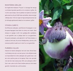 Productpagina Aubergine Kookboek Purple Pride auberginetelers