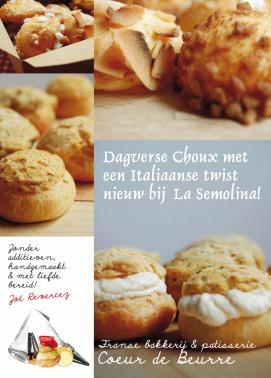 Flyer Coeur de Beurre & La Semolina