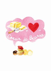 Logo Coeur De Beurre Franse Bakkerij & Patisserie