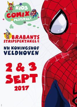 A0 poster KCF onderdeel van Brabants Strip Spektakel