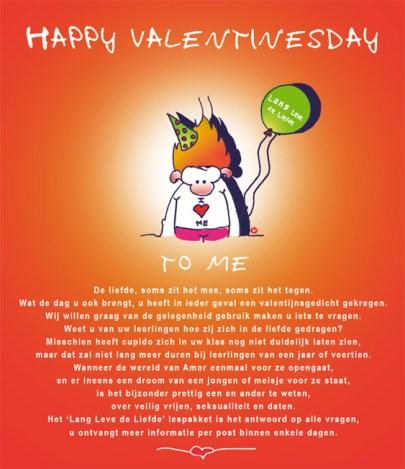 Tekst | Illustratie mailing GGD lespakket over liefde