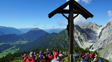 Die Bergrettung Mieming feiert ihr 40Jähriges am Gacher Blick, Foto: Andreas Fischer