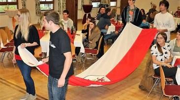 """Jungbürgerfeier mit dem Gelöbnis zur Treue """"dem Vaterland Österreich und dem Heimatland Tirol"""", Foto: Knut Kuckel"""