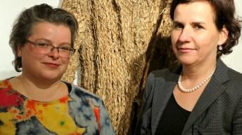 Margareta Langer und Maria Meusburger-Schäfer, Foto: Knut Kuckel