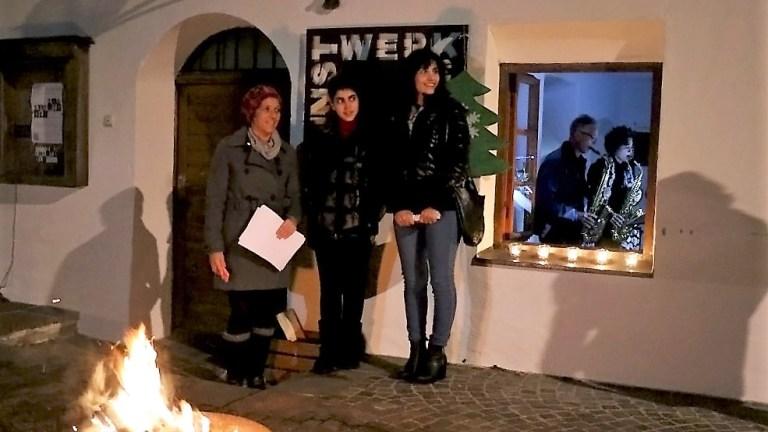 Adventkalender im Kunst-Werk-Raum - mit Gästen aus Syrien und dem Irak, Foto: Knut Kuckel