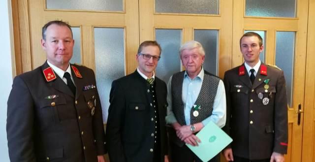 Hohe Auszeichnung für ELM Alfred DOPPELHOFER