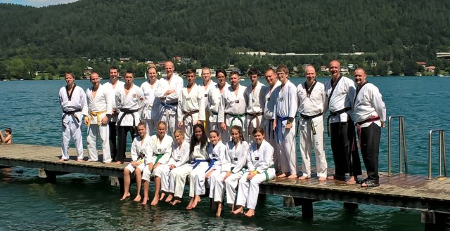 Unser Tae-Kwon-Do Trainingslager am Wörthersee
