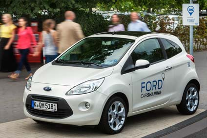 ford carsharing rollout