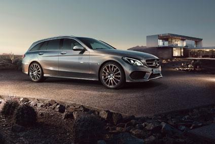 EUROPCAR Mercedes Benz C Klasse T Modell vor Marktstart