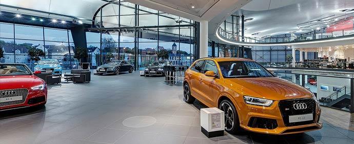 Audi HändlerKonzepte Neuaufstellung