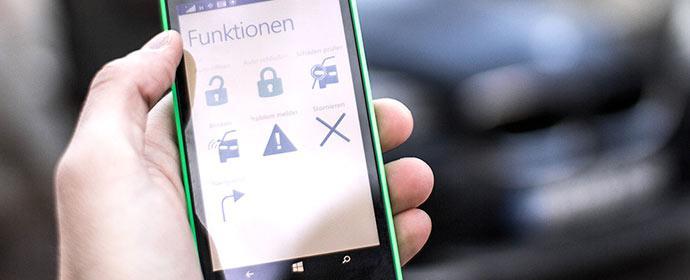 Schlüsselerlebnis Smartphone: Continental und D'leteren arbeiten an smartphonebasierter Autoschlüsseltechnologie