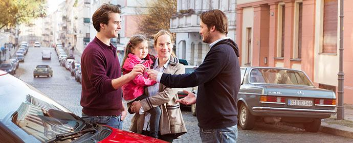 Mit dem unnütz herum stehenden Auto geld verdienen: Drivy bringt Mieter und Vermieter zusammen