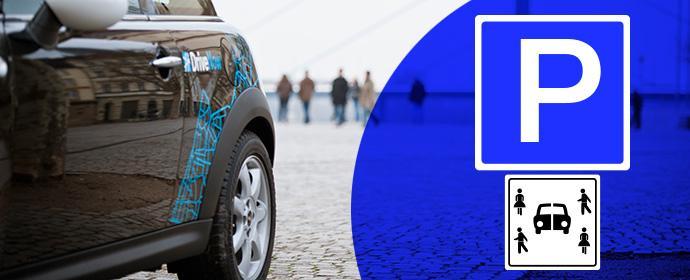 DriveNow in Düsseldorf: Sind extra Parkzonen für Carsharing unbedingt nötig?