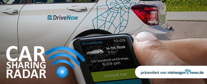 DriveNow-App jetzt mit Apple Watch Unterstützung - CarsharingRadar DriveNow-Spezial