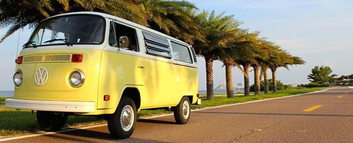Mit dem Wohnmobil Bulli durch Florida mit Florida-VW-Rentals