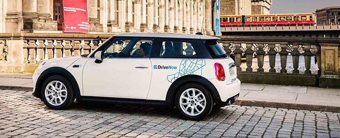 DriveNow: der neue Mini kommt in die Flotte und kann ab sofort gemietet werden