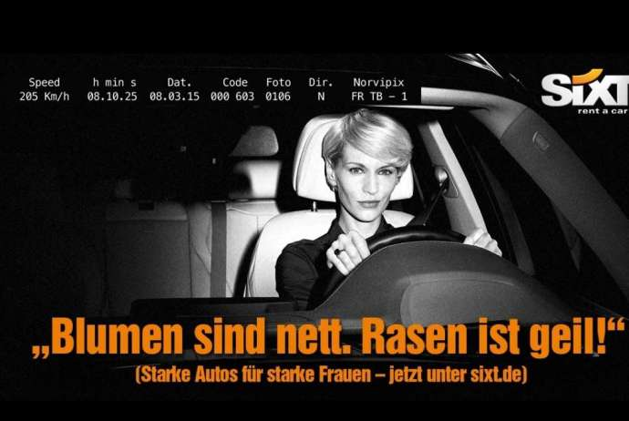 Sixt, Sixt Werbung, Shitstorm, Autovermietung, Mietwagennews