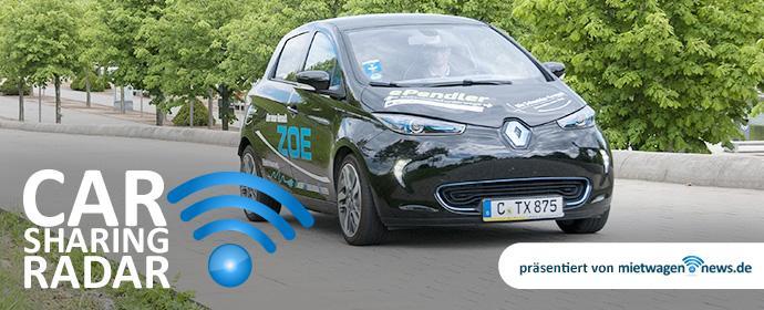 CarsharingRadar: EMobility Spezial