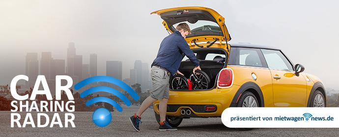 Carsharing-Radar 32/2015: Teilen ja, aber nicht das eigene Auto für Carsharing zur Verfügung stellen