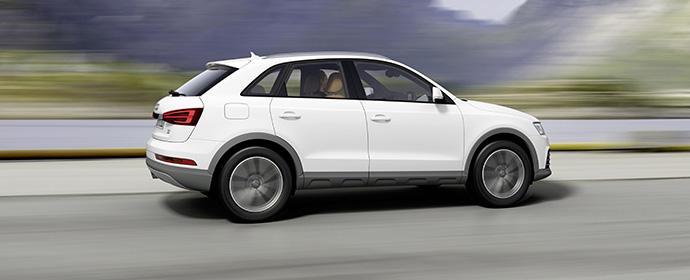 Das alte Mietwagengesetzt: Fahre, was auf dem Hof steht - statt Cabrio dann eben einfach Audi Q3