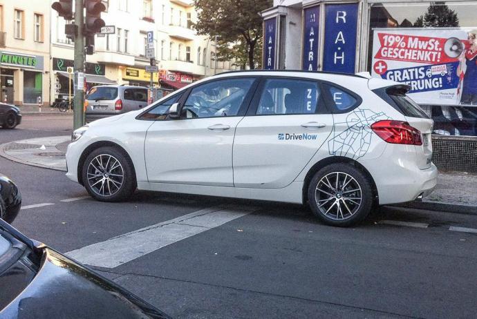 BMW 2er ActiveTourer und Cabrio bei DriveNow