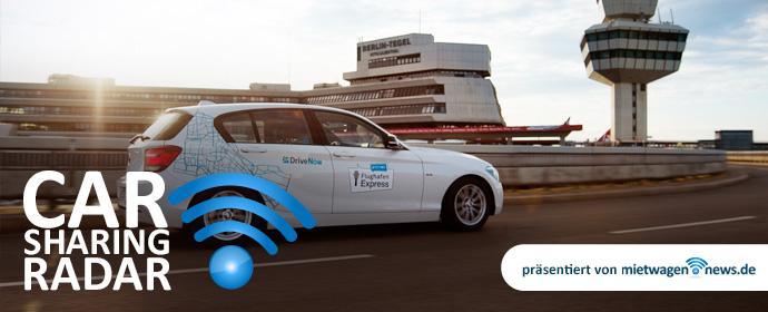 CarsharingRadar - DriveNow bindet jetzt auch den Flughafen Schönefeld ins Berliner Geschäftsgebiet ein