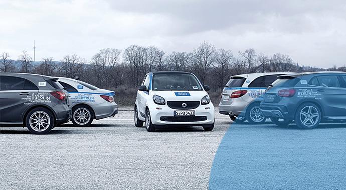 car2go startet in Berlin mit Smart und Mercedes neu durch