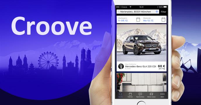 Daimler bringt mit Croove das erste peer-to-peer-Carsharing an den Start