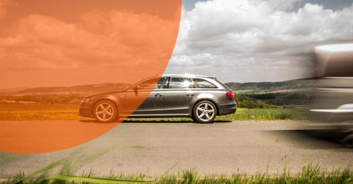 Audi A4 von Sixt geht baden - Gauner verkaufen Ersatzteile