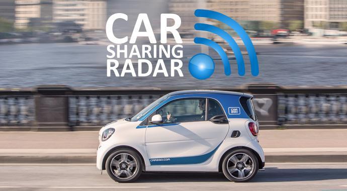 Carsharing-Radar - Carsharing wächst so stark wie nie und wird immer bekannter, gleichzeitig schwindet der Glaube an die Umweltfreundlichlkeit geteilter Autos