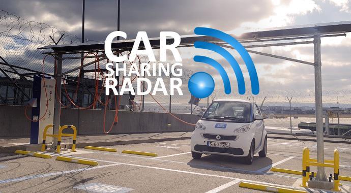 Neues Ladesystem für car2go Smarts am Stuttgarter FLughafen