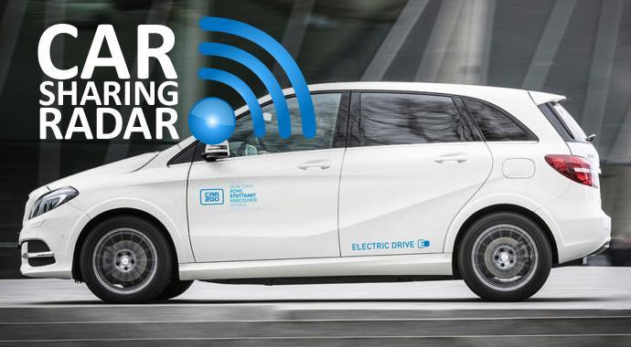 CarsharingRadar - car2go bringt 50 elektrische Mercedes B-Klassen nach Stuttgart