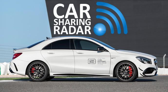 AMG-Sharing statt Carsharing für 70 Cent pro Minute und ab einem Mindestalter von 40 Jahren kann man bei car2go Mercedes-AMG CLA45 fahren