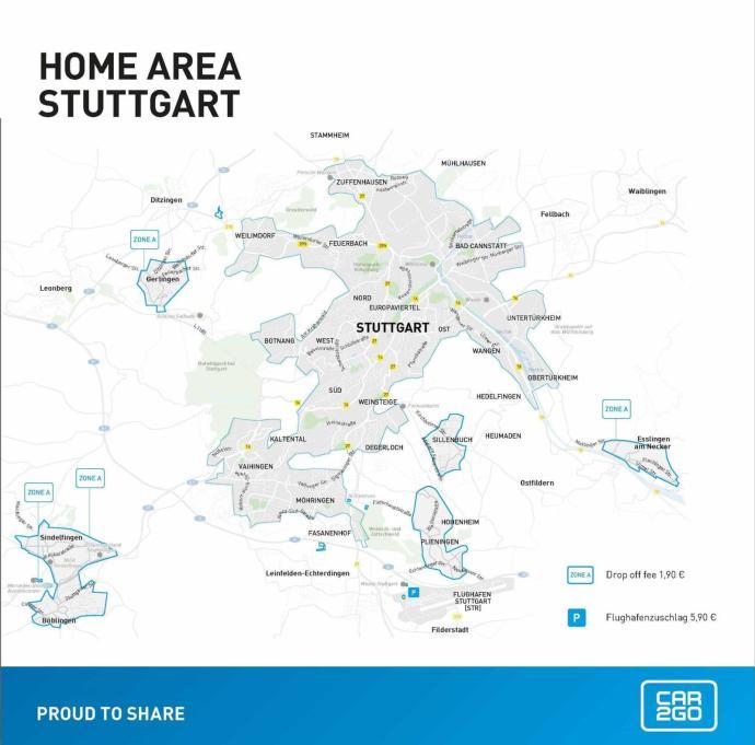 CarsharingRadar 44.2017 | car2go verkleinert in Stuttgart