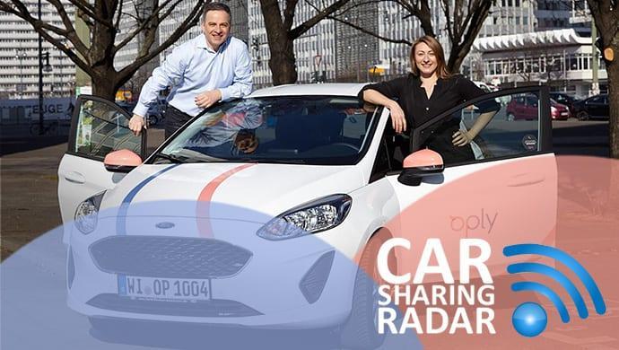 CarsharingRadar 13.2018: Neues Carsharing in München - Oply startet mit vielfältiger Flotte und löst BeeZero, das WasserstoffCarsharing ab
