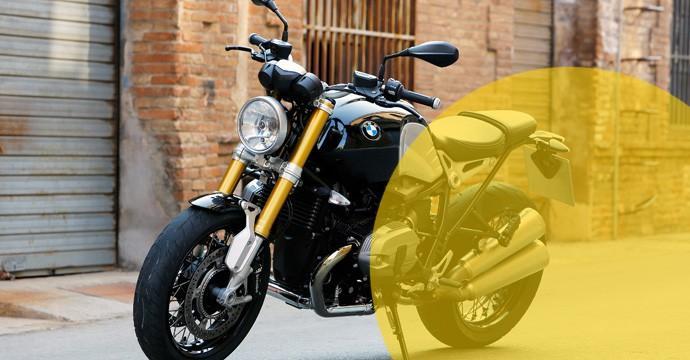 Hertz - BMW Motoräder in der Schweiz mieten - wie zum Beispiel das Retro-Bike R-nineT und andere neue Modelle