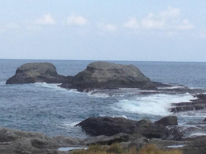 L'Océan Indien et se Pacifique se heurtent avec violence