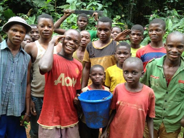 Une tribu africaine