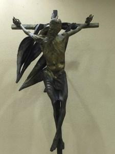 Jésus s'envole vers le ciel