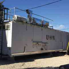 Mobile Kitchens Windsor Kitchen Chairs Mifram Security At A Un Camp Next To An Existing