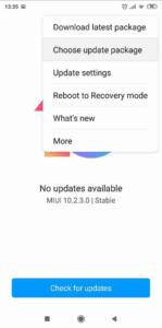 how to install MIUI 11 Rom Manually