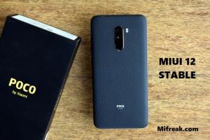 miui 12 stable for poco f1