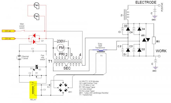 Homemade Tig Welder Schematic, Homemade, Free Engine Image