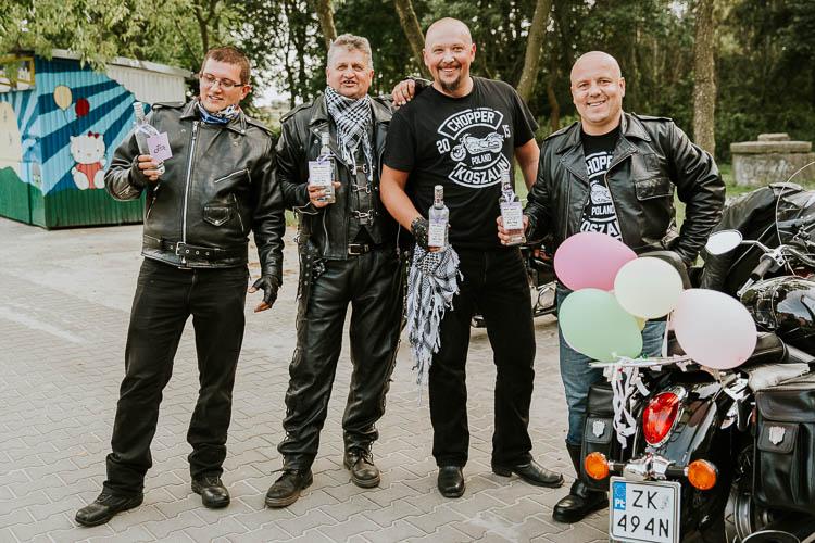 Ślub motocyklistów