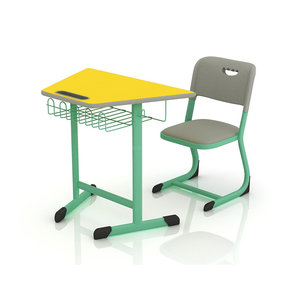 School Desk And Chair Mg Kz 004 Mige Office Furniture